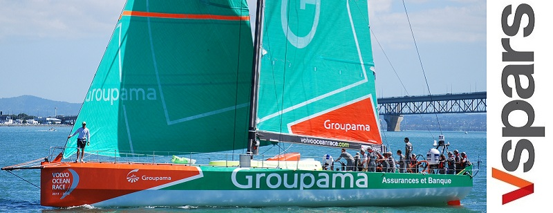 Groupama Auckland. Image courtesy of Cecile Laguette.